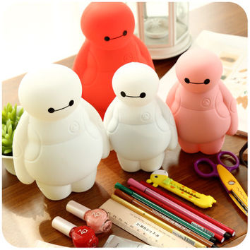 Pencil Case Stationery Novelty Cute Silicone Pencil Case Boys Girls Multifunction Pencil Box For School & Office
