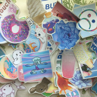 RANDOM sticker mix (10 pcs) or one randomly selected sticker