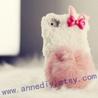 rabbit iphone 4s case, woolen iphone 5 case,cute iphone 4 cases, samsung galaxy s3 case,samsung i9300 case