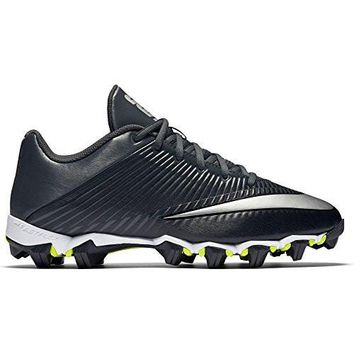 Men's Nike Vapor Shark 2 Football Cleat Black/Anthracite/Metallic Silver Size 8.5 M US