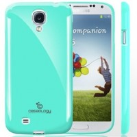 Galaxy S4 Case, Caseology® [Daybreak Series] Slim Fit Shock Absorbent Cover [Turquoise Mint] [Slip Resistant] for Samsung Galaxy S4 - Turquoise Mint