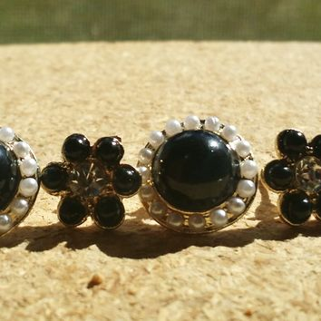 Flower Power Earring Duo