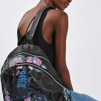 BRADLEY Leather Scorpion Backpack | Topshop