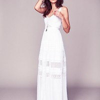 Free People Jill's Limited Edition White Story Dress - Available in Sizes 0-12