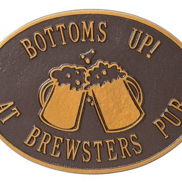 Customized Beer Mugs Deck or Bar Sign