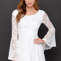 Imagine the Best White Lace Dress