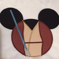 Disney May The 4th Be With You Obi Wan  Appliqued T Shirt Available from 12m to 14/16