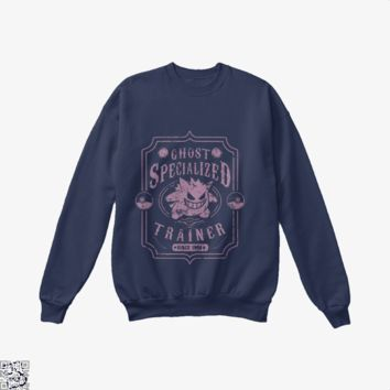 Ghost Specialized Trainer, Pokemon Crew Neck Sweatshirt
