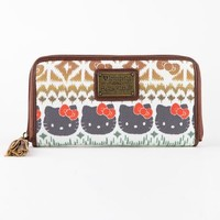 Hello Kitty Long Wallet: Boho