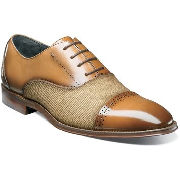Barrington Cap Toe Oxford by Stacy Adams