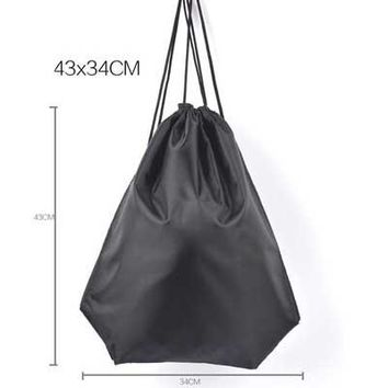 Boys Backpack Bag Fashion Smile Face Drawstring Bag Children Shopping Bags Mochila Bags For Girls And Cartoon Kids  Waterproof AT_61_4