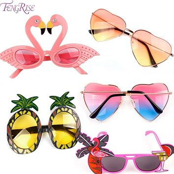 Tropical Party Novelty Sunglasses