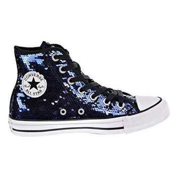 Converse Chuck Taylor All Star Sequin Hi Midnight Indigo Textile c530405655