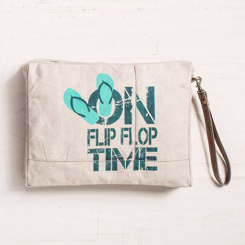 Flip Flop Time Wet Bag