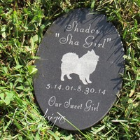 Memorial Stone, Memorial Gift, Sympathy Gift, Pet Loss, Remembrance , Loss, Grief, Grave Marker, Garden Stone, Death, Personalized