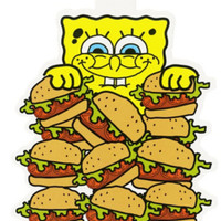 SpongeBob SquarePants Krabby Patty Sticker
