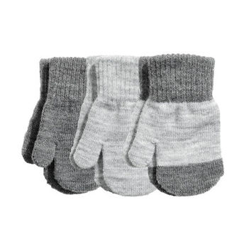 3-pack Mittens - from H&M