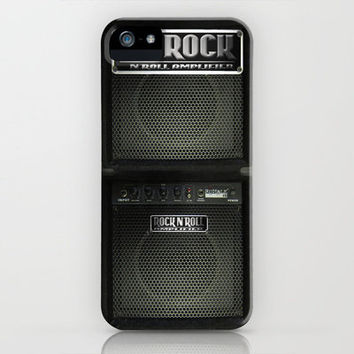 Rock N´Roll amplifier iPhone Case by Nicklas Gustafsson | Society6