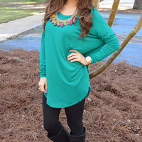 Piko Boo Tunic: Kelly Green