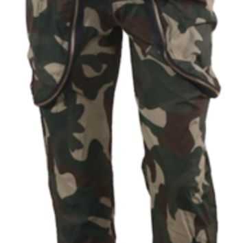 Army Camouflage Cargo Pocket Pants