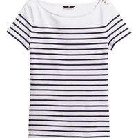 H&M Striped Top $12.95