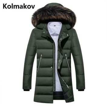 2017 winter 80% white duck down men's fashion casual classic Down jacket men Hooded winter jackets men's down coats size M-3XL
