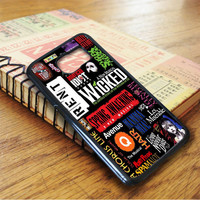 Wicked Broadway Musical Collage Samsung Galaxy S6 Case