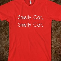 Smelly Cat - Phoebe Buffay Quote Friends T-shirt from skreened.com