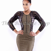 The Classic Xtreme Dress (Gold)
