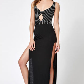 Lisakai Side Slit Maxi Skirt at PacSun.com