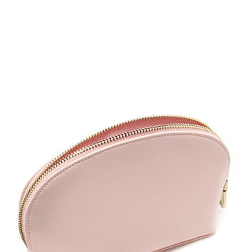 Faux Leather Makeup Bag | Forever 21 - 1000205593