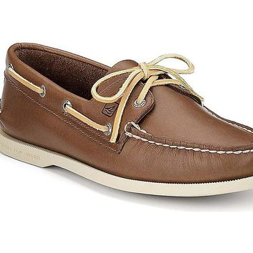 Men's Authentic Original Boat Shoe in Tan by Sperry