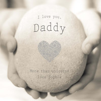 Personalised Daddy Print, Daddy Quote Print, Personalised Gift for Dad, I love you Daddy Print, Father's Day Gift, Daddy Typography Print