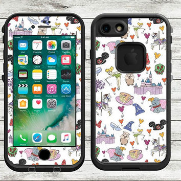Chracter Collage LifeProof Decal | LifeProof Skin | iPhone X, iPhone 8, iPhone 8 Plus, iPhone 7, iPhone 7 Plus, iPhone 6
