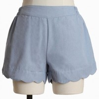 Blue Sky Eco-friendly Shorts By Covet | Modern Vintage New Arrivals