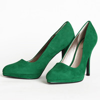 morgan alyse emerald heels - $38.99 : ShopRuche.com, Vintage Inspired Clothing, Affordable Clothes, Eco friendly Fashion