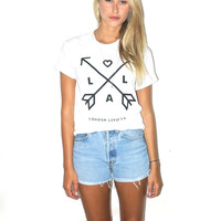 Arrows Of Love L♥LA tee