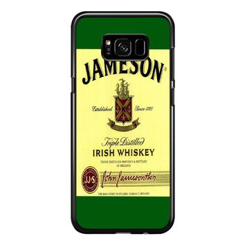 Jameson Wine Irish Whiskey Samsung Galaxy S8 Plus Case