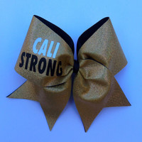 Cali Strong Cheer Bow