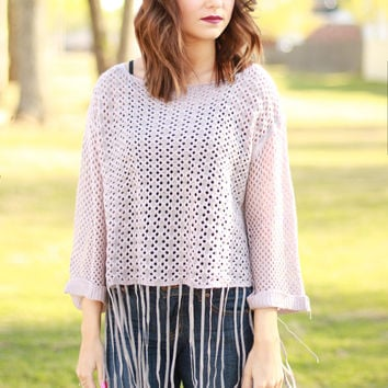The JoJo Fringe Sweater
