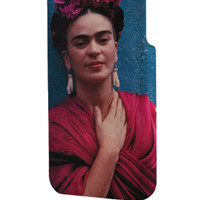 Best 3D Full Wrap Phone Case - Hard (PC) Cover with Frida Kahlo 2 Design