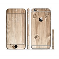 The LIght-Grained Wood Sectioned Skin Series for the Apple iPhone6s Plus