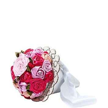 BETSEY BLUE BOUQUET WRISTLET: Betsey Johnson