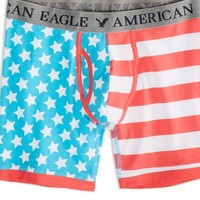 AEO 's Flag Athletic Trunk (Blue)
