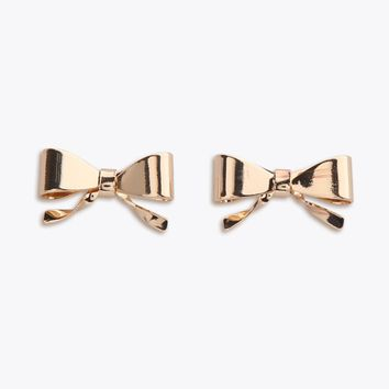 Tied Up Bow Earrings | Ruche