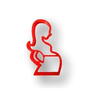 Pregnant women Cookie Cutter (Style 2) - Maternity cookie cutter