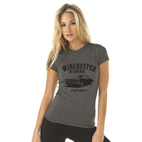 Winchester and Sons  - Supernatural Inspired - Women's Poly/Cotton T-Shirt