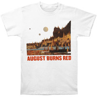 August Burns Red Men's  Album T-shirt White
