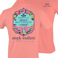 Simply Southern Simply Blessed Southern Raised Tee- Melon