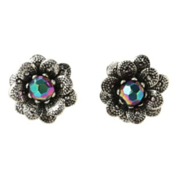 Flower Gem Earrings